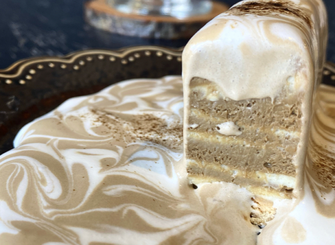 Rametto coffee room(ラメットコーヒールーム)ほうじ茶レアチーズケーキ