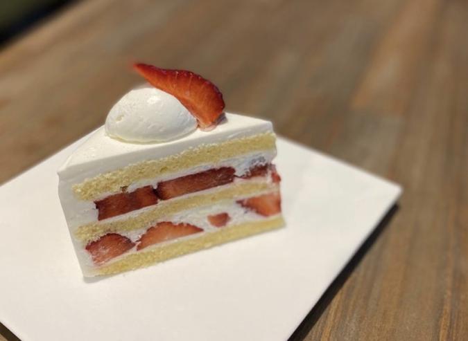 カフェマルゴ ショートケーキ