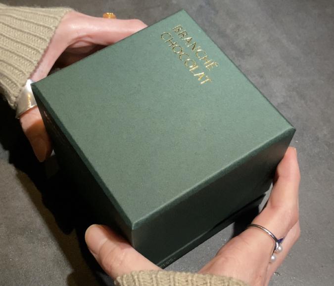 抹茶のカレ・オ・ショコラ ボックス