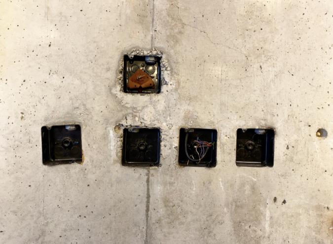 TAGSTÅ(タグスタ)店内の壁