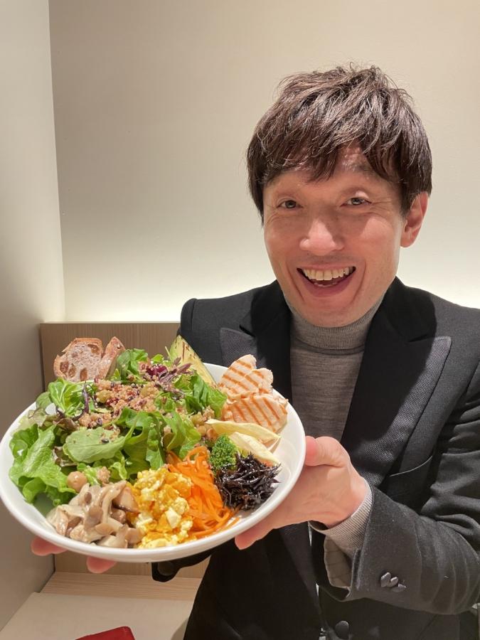 抹茶カフェ HACHI 博多店 藤本一精さん