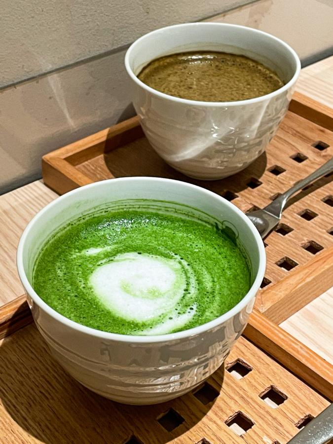 抹茶カフェ HACHI 博多店 ラテ