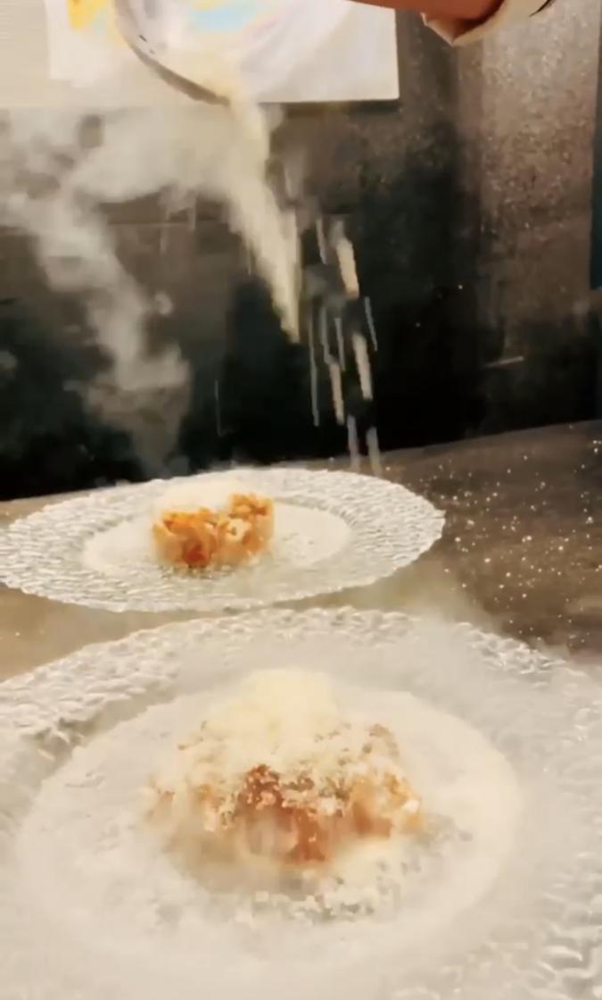モトフサアラキ パスタ チーズ
