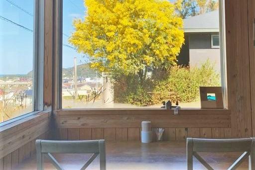 Cafe食堂 Nord(ノール) 窓からの景色