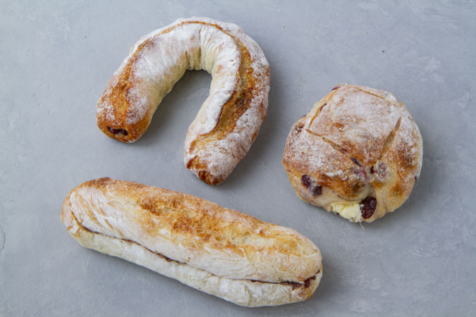 パンサク フランスパン系アレンジパン&リュスティック生地の甘系