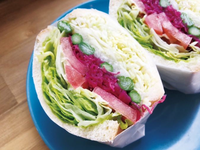 サンデリカ もりもり野菜サンド