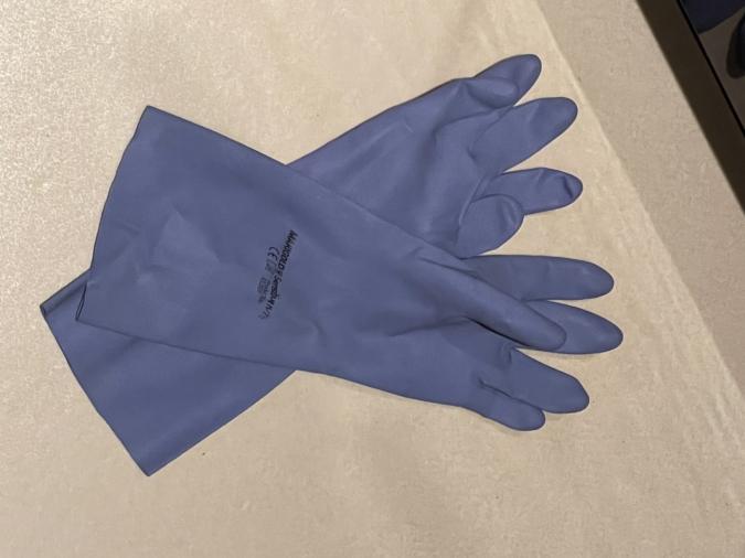「マリーゴールド」のゴム手袋 敏感肌用