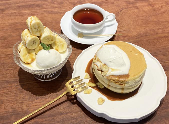 椿サロン 北海道ほっとけーき バナナ