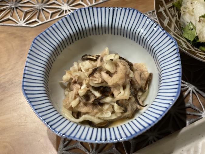 ツナと切り干し大根のサラダ