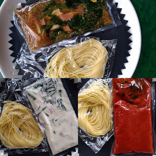 Palatino生麵とパスタソースのセット