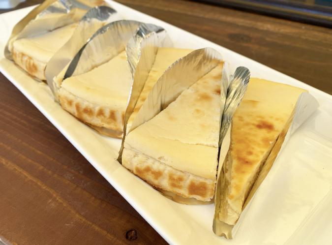 HAPPY HILLのチーズケーキ
