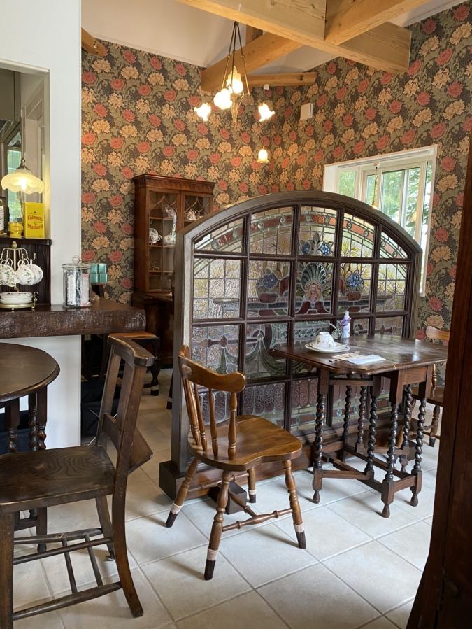 Bibury Tea Rooms(バイブリーティールームズ) 店内