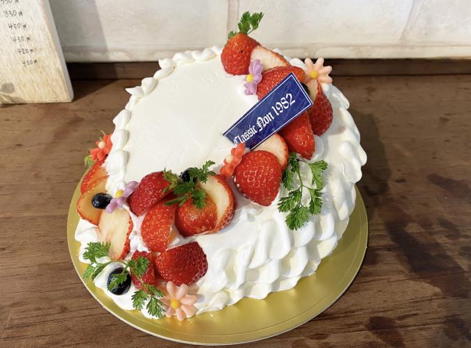 Classic Non 1982 ななめ ケーキ