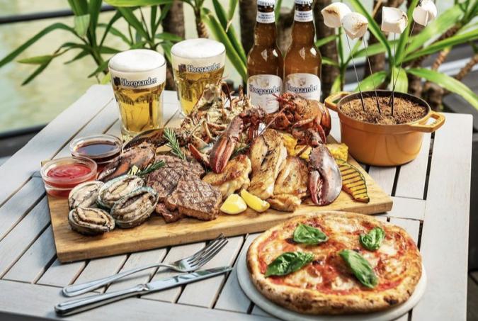 オマール海老&アワビの豪華海鮮とお肉バーベキュープラン