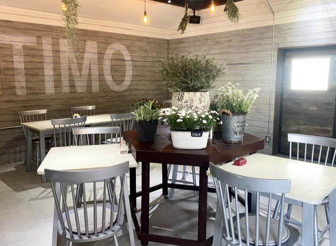 ottimo(オッティモ)焼き菓子カフェ イートインスペース