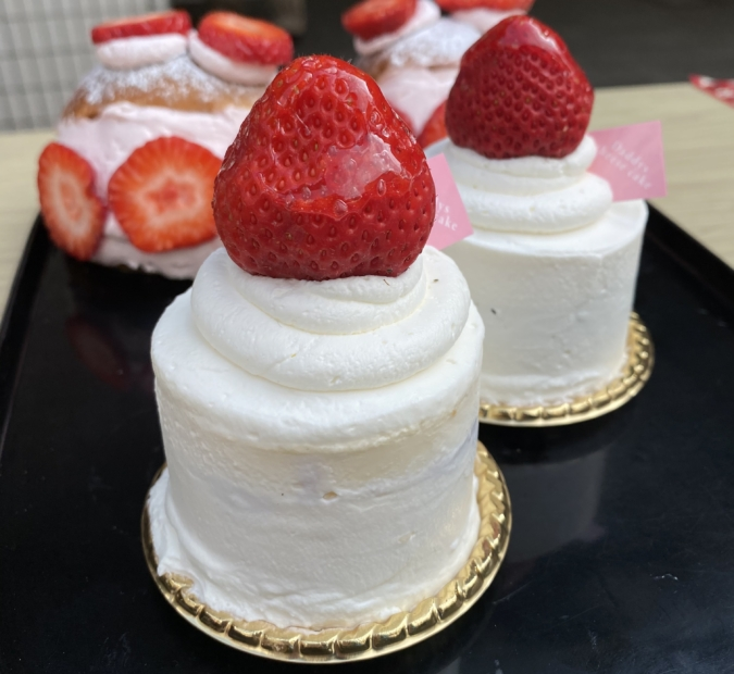 キャンドルケーキ
