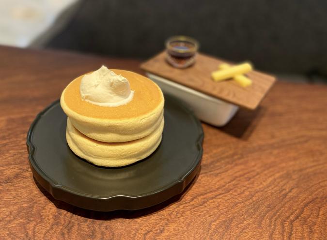 椿サロン ホットケーキ