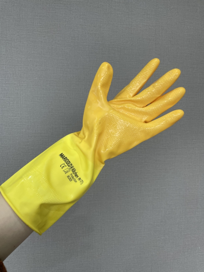 「マリーゴールド」のゴム手袋