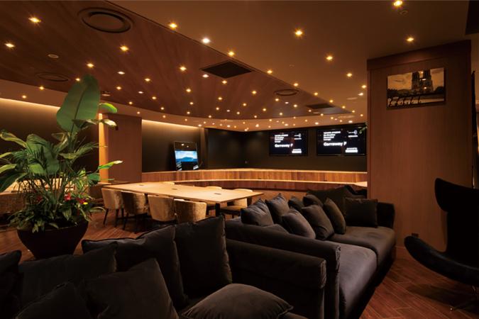 TOYOTA KYUSYU Co-Creative connected Lounge Garraway F (ギャラウェイエフ) ソファ