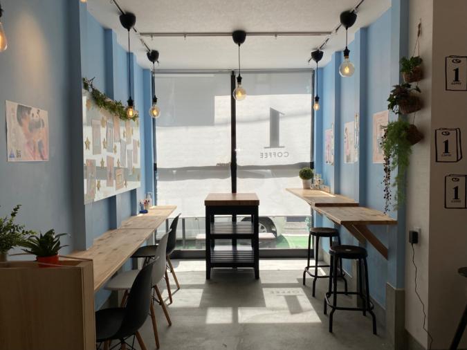 1COFFEE(ワンコーヒー)店内