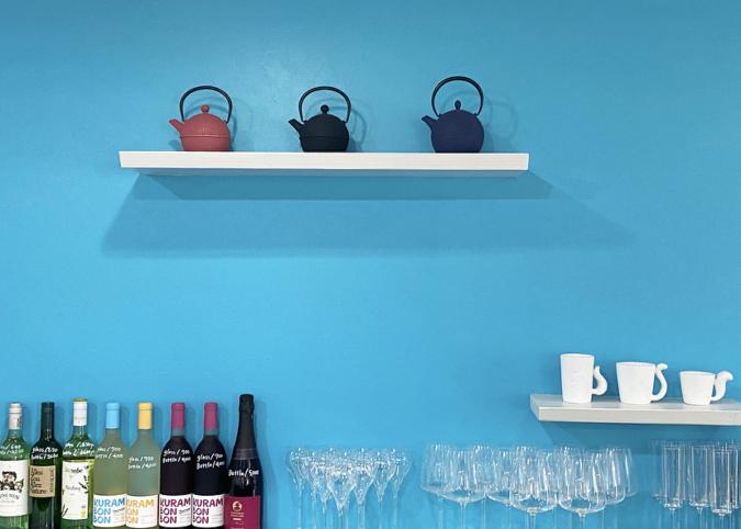 M.Sucre(ムッシュシュクレ) 青い壁