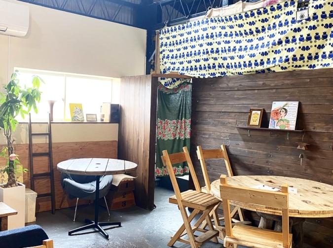 cafe PEACE倉庫