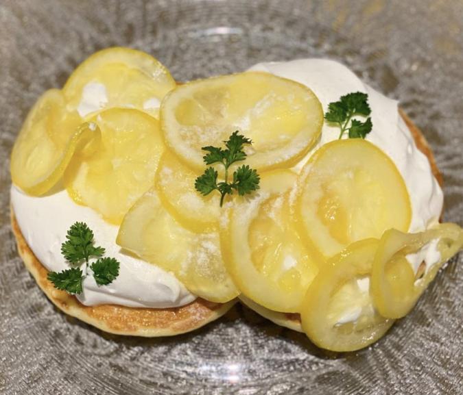 BEACH CAFE&STAY BOCCO VILLA(ビーチカフェアンドステイ ボッコヴィラ) レモンパンケーキ