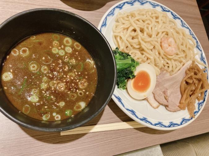 「中華そば 藤王」つけ麺