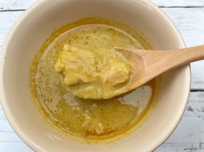 無印良品『糖質10g以下のカレー チキンの豆乳クリームカレー 150g(1人前)』
