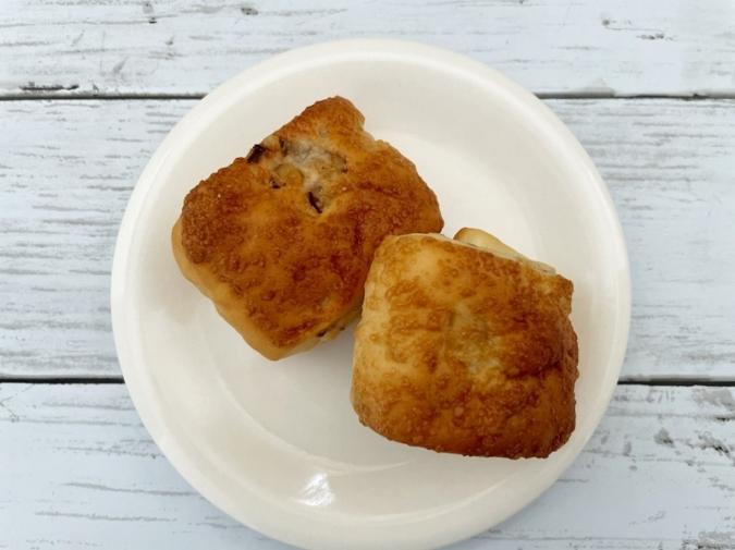 無印良品『糖質10g以下のパン くるみチーズ』