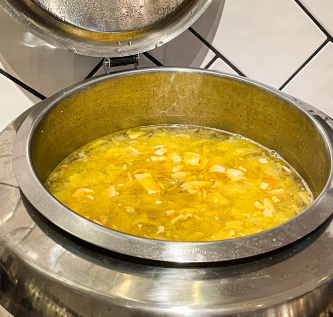 バールヴィータのスープコーナー