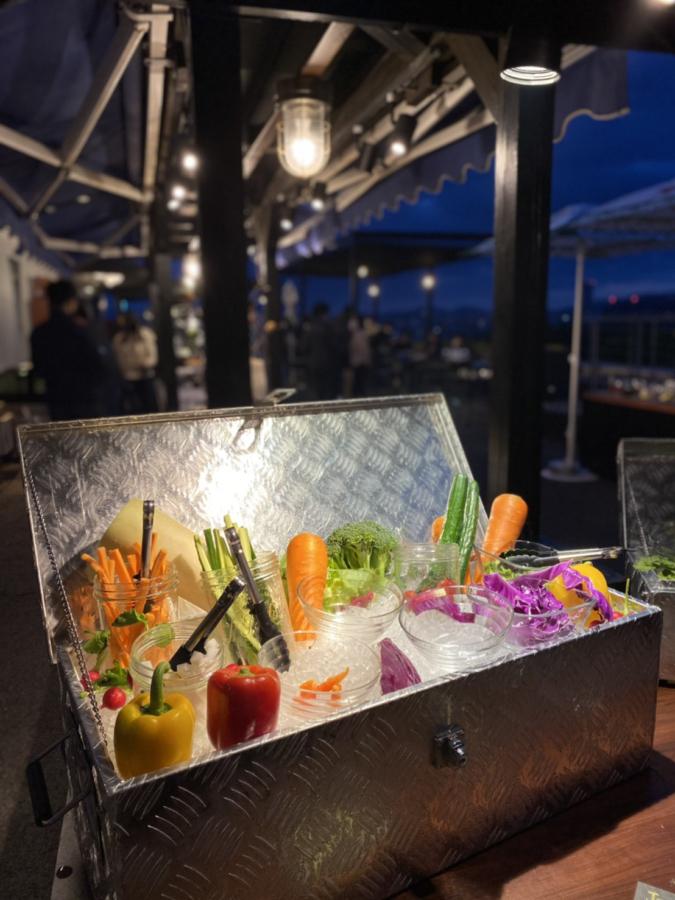 夜の野菜の宝石箱