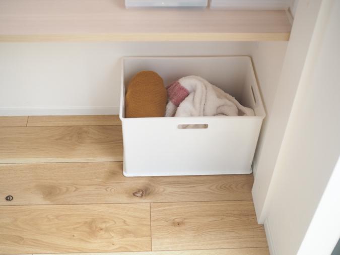 「子持ち家庭のルーティン」 玄関の放り込みボックス