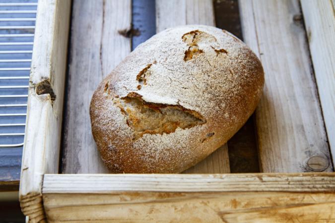 パンはまるで「発酵アート」