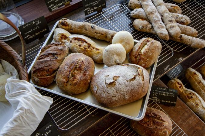 粉kona屋のパン大集合
