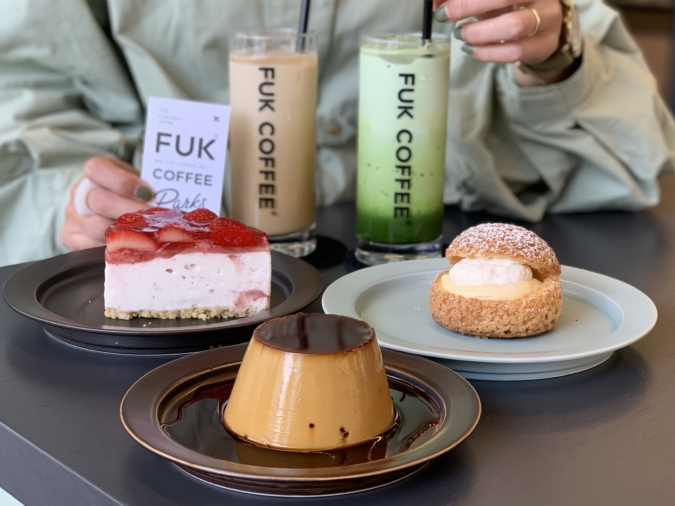 FUK COFFEE(R)parks(フックコーヒーパークス)スイーツ