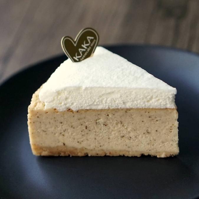 KAKA大名店のチーズケーキ「アールグレイ」