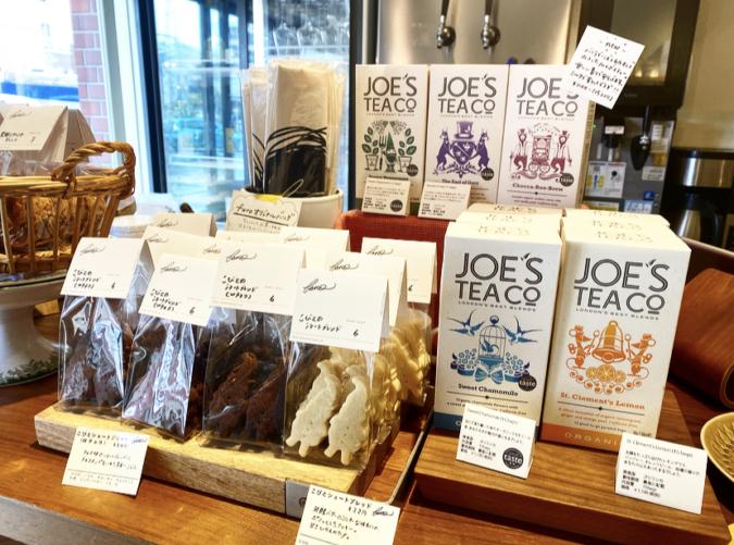 favo焼き菓子と紅茶の販売