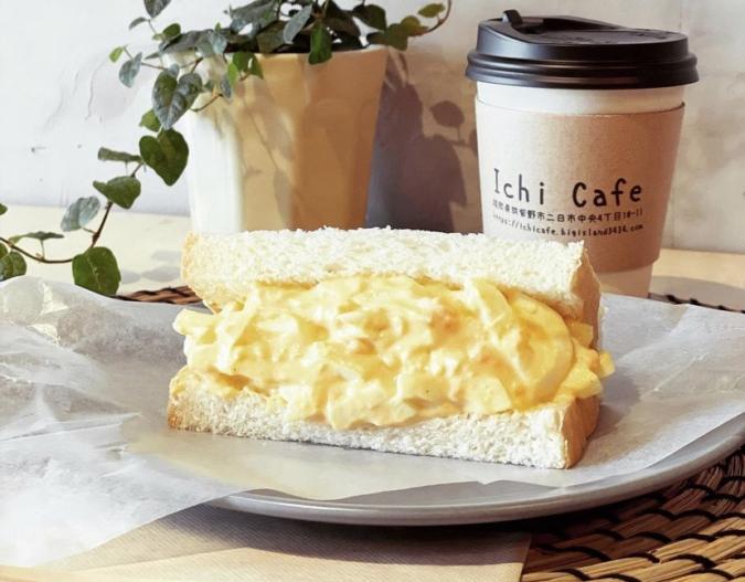 Ichi Cafeもりもりたまごサンド