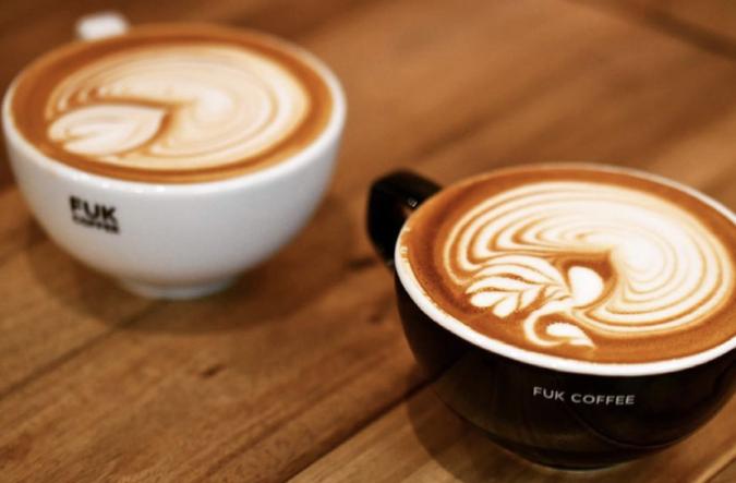 FUK COFFEE(R)PARKS(フックコーヒーパークス) ラテアート