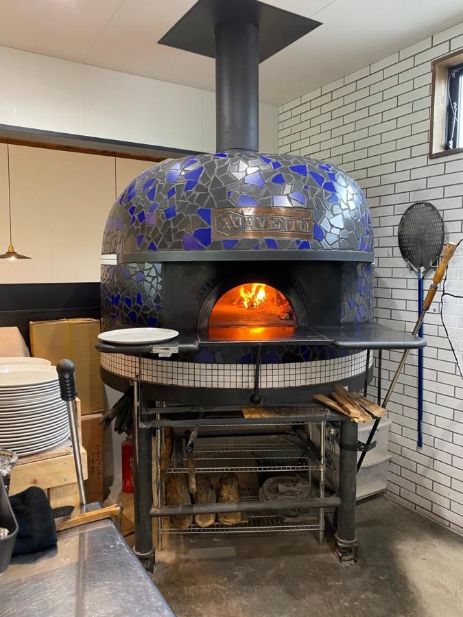 PIZZERIA AVENTOのピザ窯