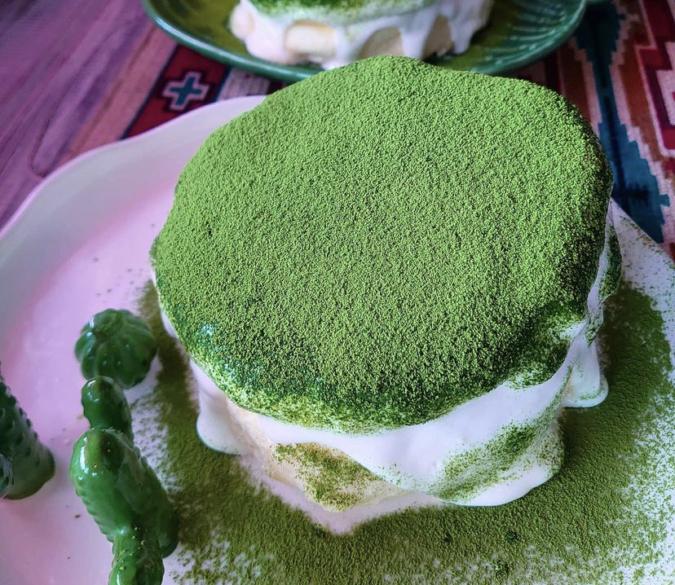 抹茶ティラミスパンケーキ