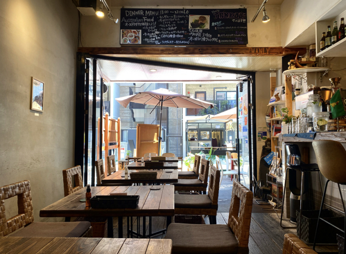 Manly(マンリー)店内