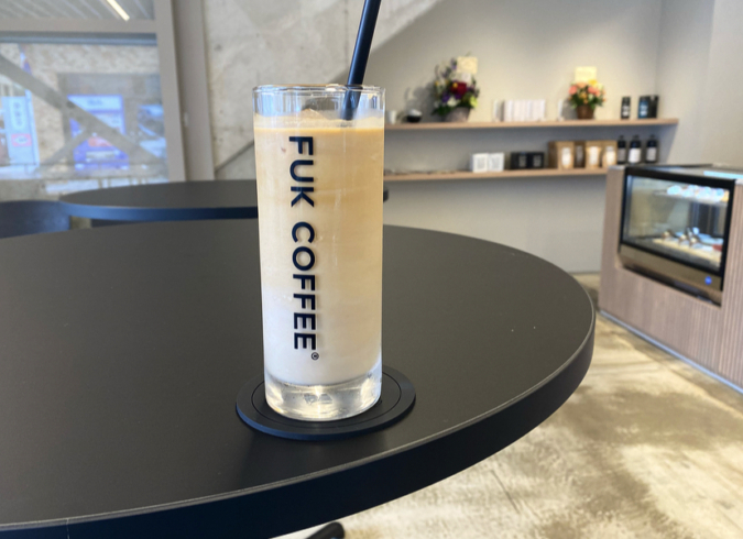 FUK COFFEE(R)PARKS(フックコーヒーパークス) アイスラテ