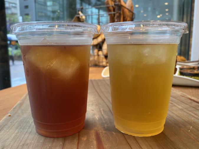 「BOUL'ANGE福岡大博多ビル店」の台湾茶