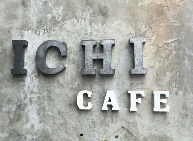 Ichi Cafe看板