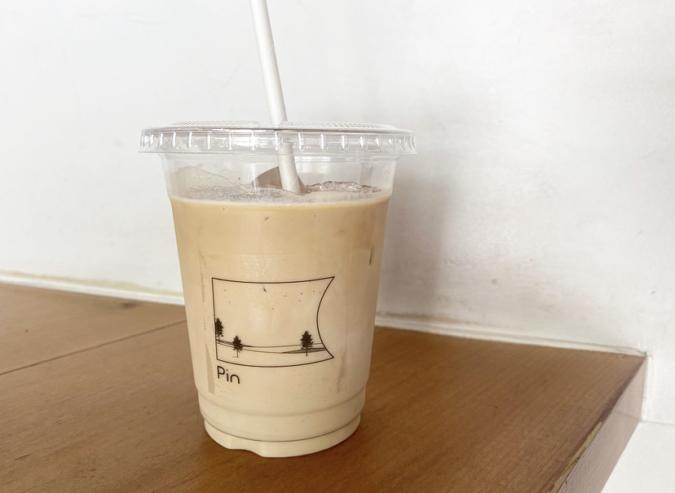 『Pin(ピン)』のカフェラテ
