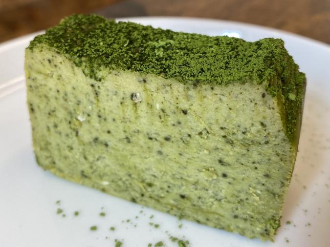 CHEESE CAKE Lemon(チーズケーキレモン)八女抹茶とホワイトチョコ