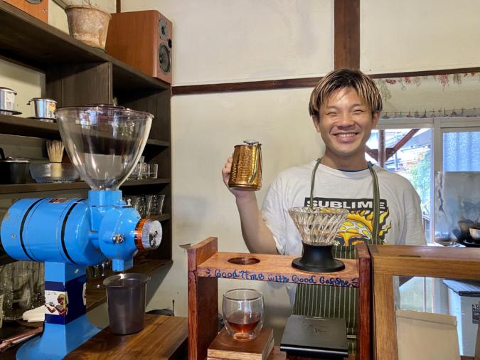 「のらり」店主の鎌田さん