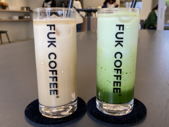 FUK COFFEE(R)parks(フックコーヒーパークス)ドリンク